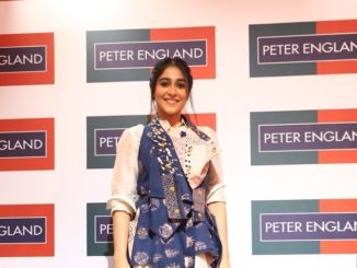 Regina Cassandra at the launch of Peter England Men's Obsession Store in Bangalore