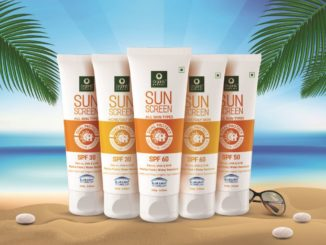 Exclusive Sunscreen launch by Organic Harvest