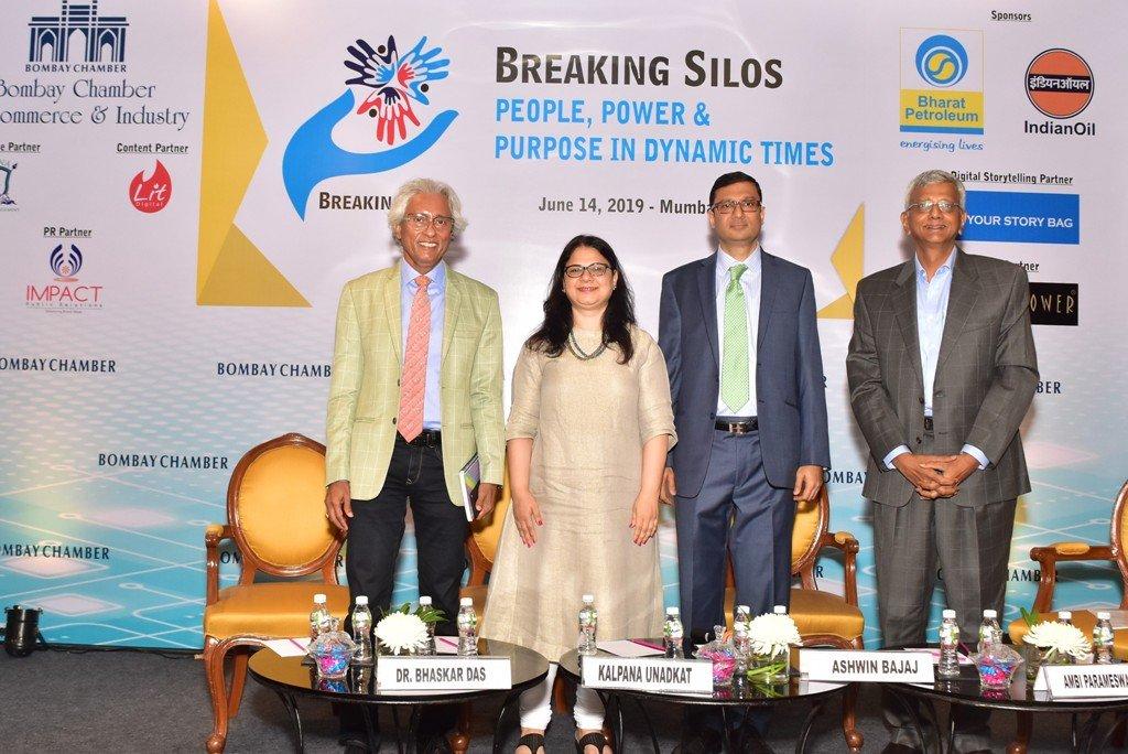 L-R Bhaskar Das, Kalapana Unadkat, Ashwin Bajaj, Ambi Parameswaram