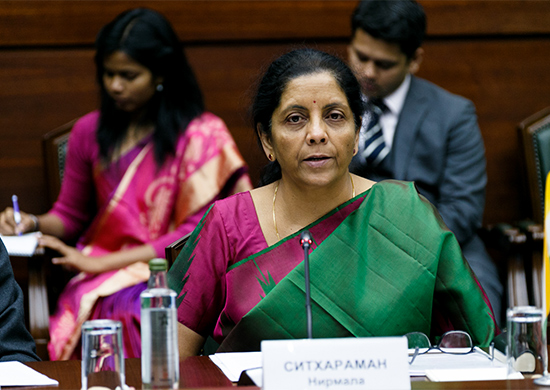 Smt. Nirmala Sitharaman, Hon'ble Union Minister of Finance and Corporate Affairs, Government of India,
