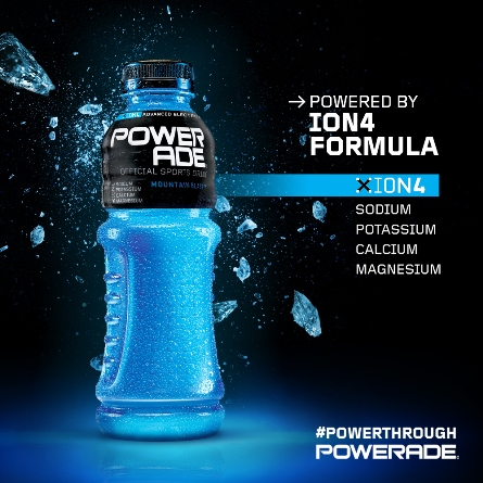 Train Hard, Stay hydrated with 'Powerade', the new sports drink from Coca-Cola India