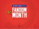 Comic Con India brings back the 3rd edition of its Fandom Month, presented by Maruti Suzuki Arena