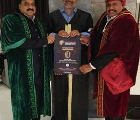 Wockhardt Foundation Founder & CEO DR. HUZ AWARDED 14th HONORARY DOCTORATE