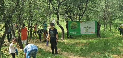 1100 saplings planted in Gurugram to raise awareness on Swachh Bharat Swachh Gurugram