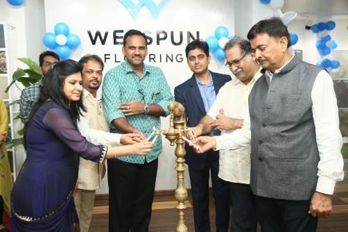 Welspun Flooringlaunches its 'Welspun Gateway' store in Jaipur!