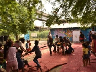 'Wishes and Blessings' celebrates National Sports Day with underprivileged kids