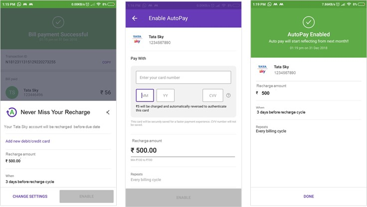 PhonePe and Tata Sky partner to offer auto-debit payments