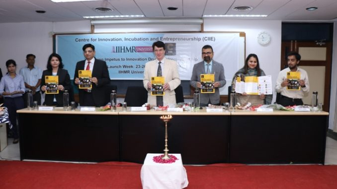 IIHMR U launches its Centre for Innovation, Incubation and Entrepreneurship (CIIE) today