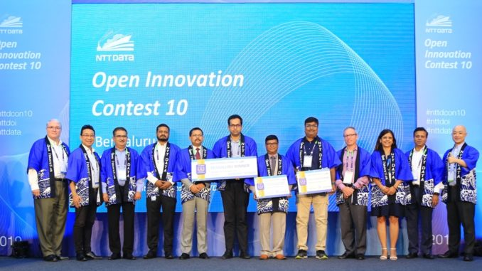 NTT DATA Open Innovation Contest Winners