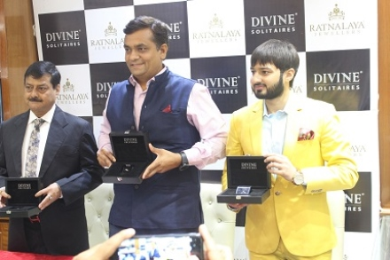 Divine Solitaires launches at Ratnalaya Jewellers in Patna