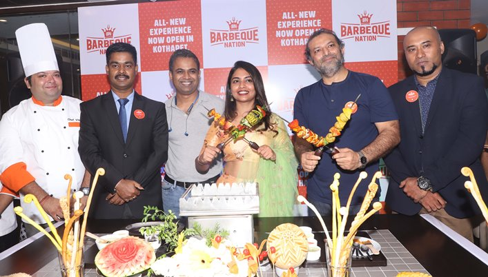 Barbeque Nation Announces the Launch of its 7TH Outlet in Hyderabad