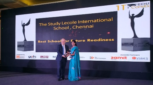 The Study- L'école Internationale School awarded with 'Best School for Future Readiness' at 11th Edu Convex