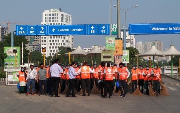 New Gurugram Residents kick started cleanliness drive
