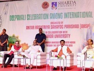 Sharda University holds a Diwali Celebration for International Students