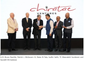 Chiratae Ventures felicitates Mr. Ratan N Tata_Lifetime Achievement Award 2019