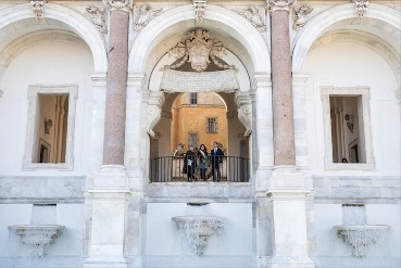 Inauguration of the four new Roman fountains restored by FENDI