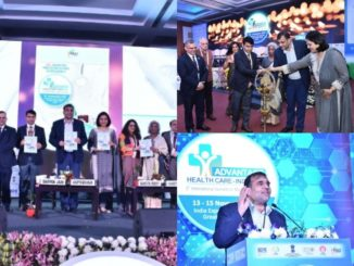 Dr Anup Wadhawan, Commerce Secretary, Ministry of Commerce & Industry, Government of India speaking at the 5th International Summit on Medical Value Travel 'Advantage Health Care - India 2019