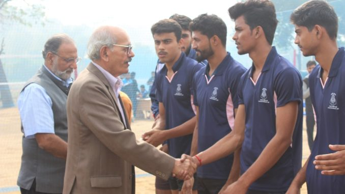 North Zone Inter University Volleyball Championship at Amity University Gurugram Opening University