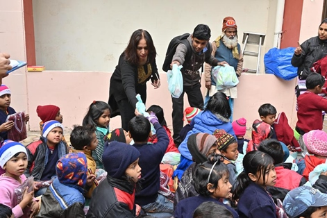 Qualcomm Supports Kids of Sunaayy across its Delhi Centers