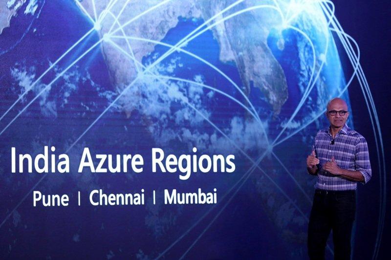 Satya Nadella at Future Decoded, Tech Summit in Bangalore