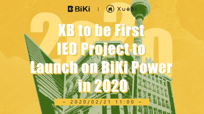 BiKI.com has launched XB Token