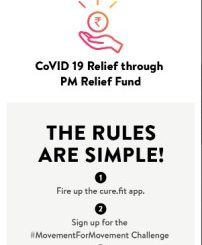 cult.fit launches #MovementForMovement challenge to donate to PM CARES