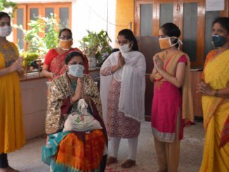 staff nurse Mrs. Pallavi Prashanth Kore