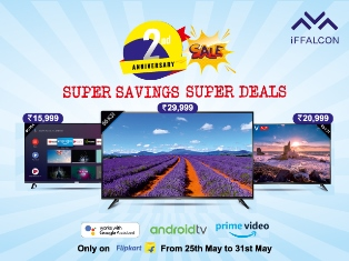 iFFALCON Celebrates 2nd Anniversary in India: Lucrative Offers for Buyers