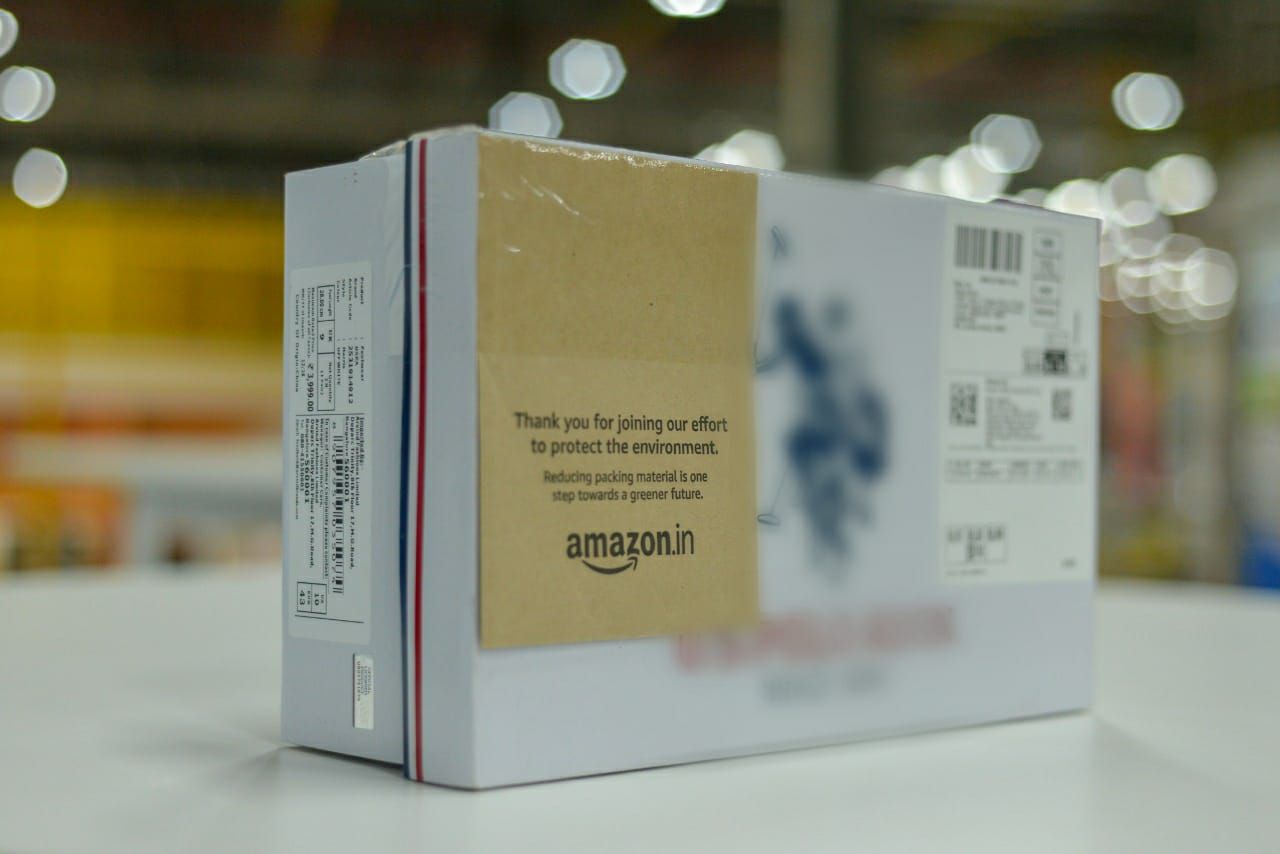 Amazon India Expands Packaging-Free Shipping to more than 100 cities towards its continued commitment to reduce packaging waste