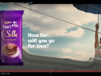 Cadbury Dairy Milk Silk introduces a refreshing new TVC based on its 'How Far Will You Go For Love' Proposition