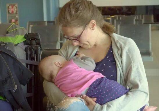 World Breastfeeding Week Most Awkward Places Moms Have Breastfed
