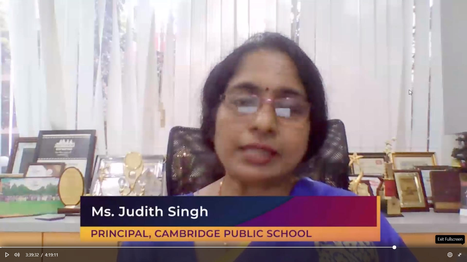 Ms. Judit Singh, Knowledge L'avenir Conclave by Tech Avant-Garde & Microsoft