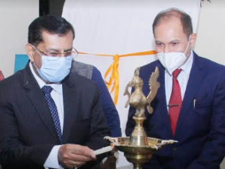 inauguration of painting exhibition