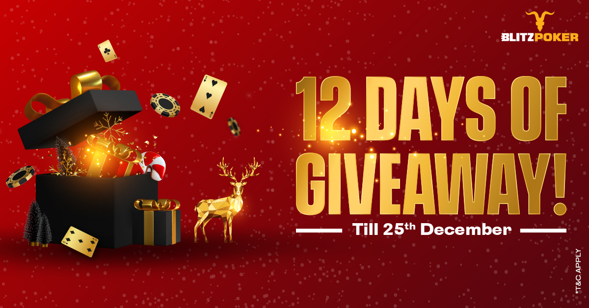 BLITZPOKER_12days of Giveaway