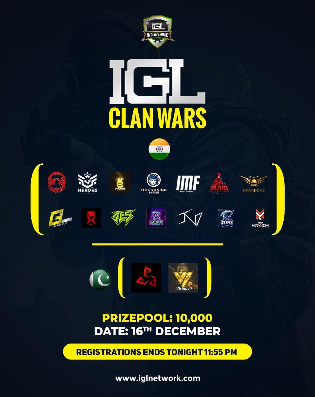 IGL Clan Tournament