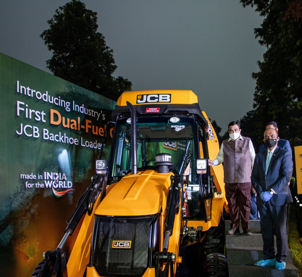 JCB India launches