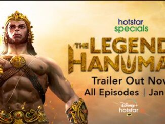 Hotstar Specials presents The legend of Hanuman - the unseen story of His journey from mighty warrior to beloved God