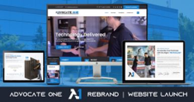 Advocate One Rebrand and Website Launch