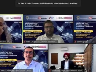 Disrupt, Accelerate and Innovate Key Focus Points of Health Next 2021 – Global Health and Innovation Conference conducted by IIHMR University