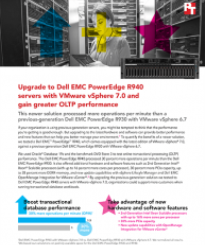 Principled Technologies Releases Study on Dell EMC PowerEdge R940 Servers with VMware vSphere 7.0