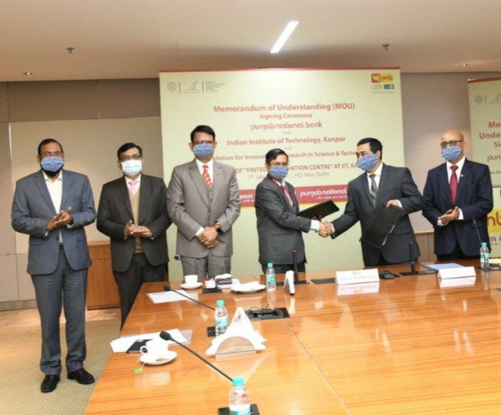 Photo -(From L to R)- Mr. Agyey Kumar Azad, Executive Director PNB_ Mr. Sanjay Kumar, Executive Director PNB_ Mr. CH. S.S. Mallikarjuna Rao, Managing Director & Chief Executive Officer PNB_ Mr. Gauri Pros