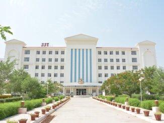 Shri JJT University Jhunjhunu records selection of 20 boys and 7 girl students in NCC