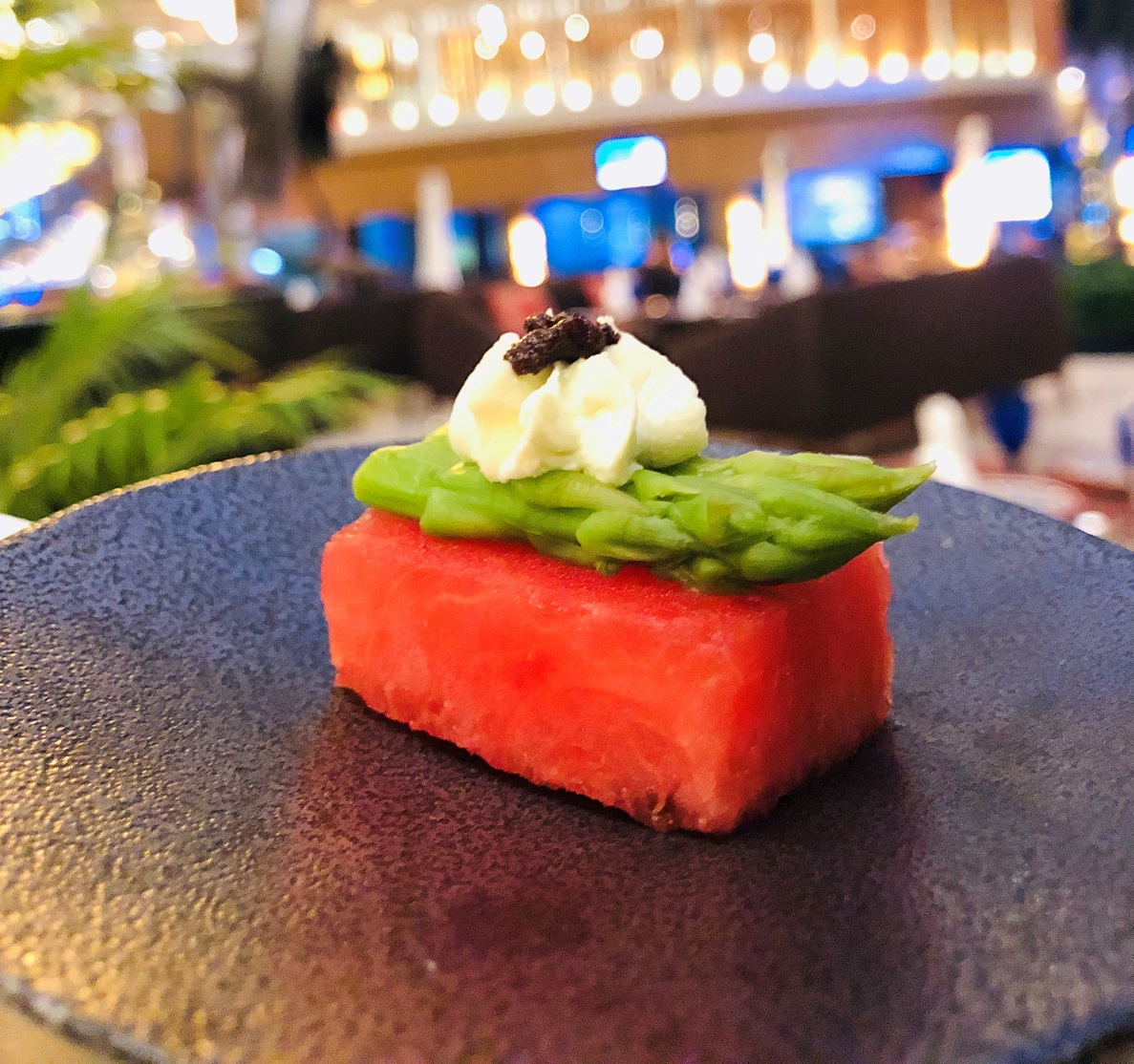 Asparagus_on_compressed_water_melon___goat_cheese_1