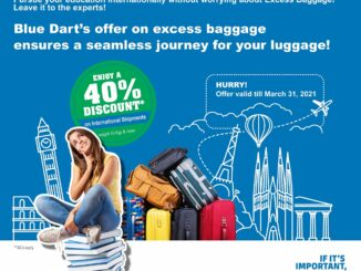 Blue Dart - One Stop Solution for Students' Excess Baggage Needs