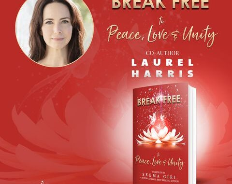 Award-Winning Writer, Producer and Actress Laurel Harris Emcees International Summit and Book Launch