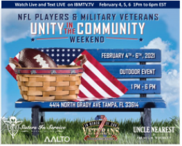 NFL Veterans to Give Awards to Military Veterans in Tampa This Week