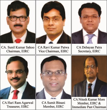 Eastern India Regional Council of the Institute of Chartered Accountants of India elected its new Office Bearers for the Year 2021 – 22