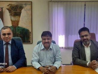(L-R) Dr. Shiv K Tripathi, Profesor and Dean Training IIHMR University, ...