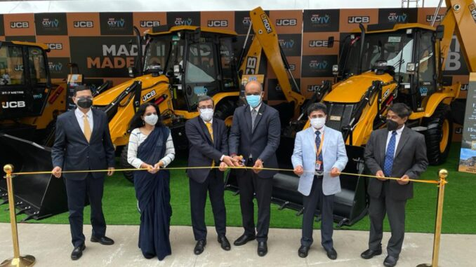 JCB India introduces its new range of CEV Stage IV compliant Wheeled Construction Equipment Vehicles
