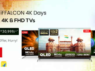 This Independence Day, iFFALCON offers 4K QLED, UHD and Android TVs at exciting discounts on Flipkart